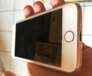 écran d'iPhone 8 changé