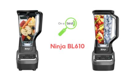 Test et avis robot blender Ninja BL610