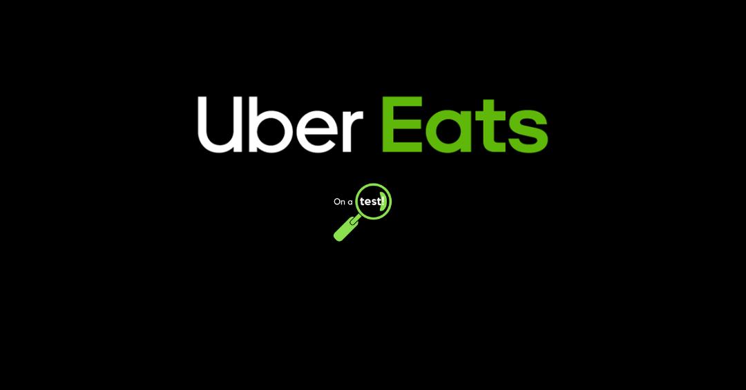Test et avis livreur UberEats