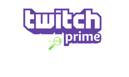 On a test Twitch Prime