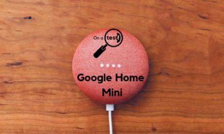 Test et avis Google Home Mini