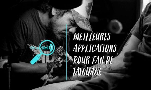 Test et avis des meilleurs applications pour fan de tatouage