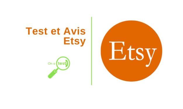 Test et avis Etsy La marketplace des artisans et du vintage