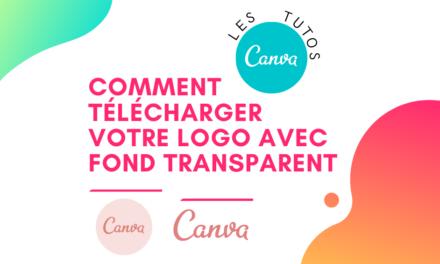 Comment télécharger votre logo avec fond transparent