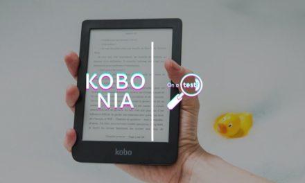 Test et avis Kobo Nia, liseuse numérique
