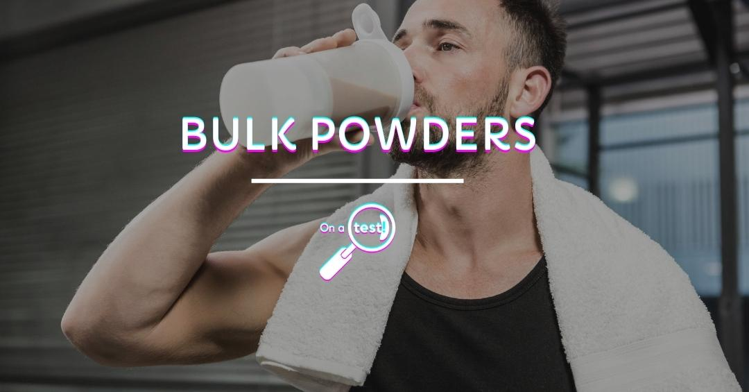 ONATEST - Bulk Powders Test et avis