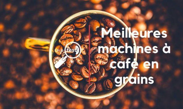 Test et avis 3 meilleures machines à café en grains