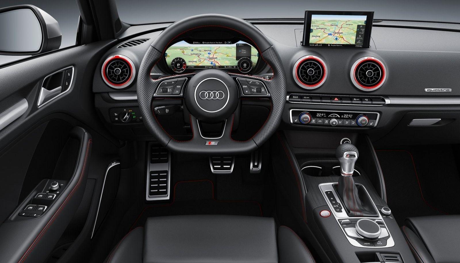 intérieur audi s3 nouveau virtual cockpit