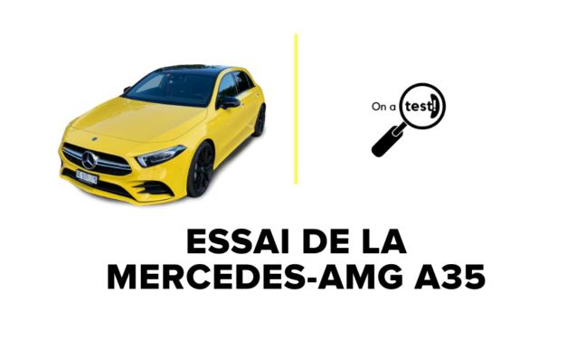 Essai de la Mercedes-AMG A35 en 2020 | Test et Avis