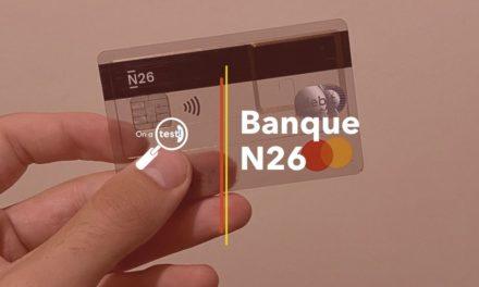 Test et avis banque N26