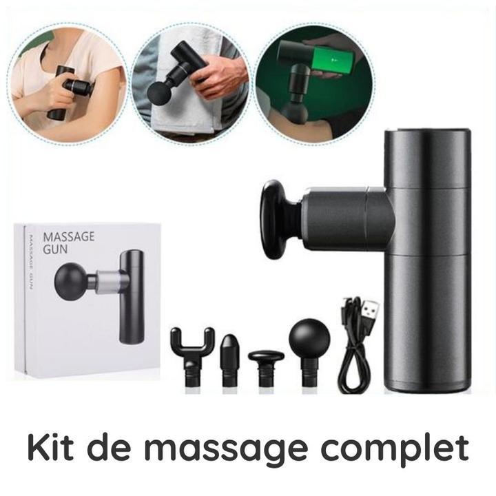Kit de pistolet masseur complet