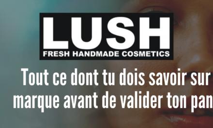 lush, une marque respectueuse et responsable ?