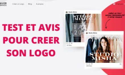Test et avis Tailor brands, créer son logo