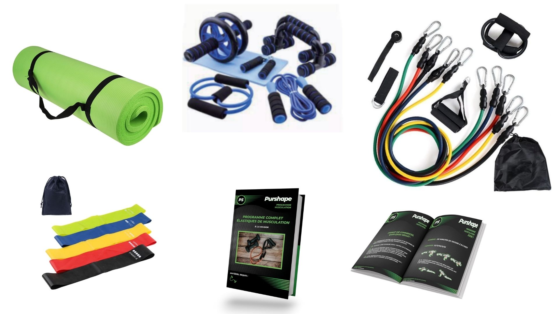Kit complet home Gym pas cher
