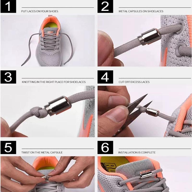 démonstration pour savoir utilisé les lacets élastiques