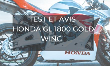 TEST ET AVIS : HONDA GL 1800 Gold Wing