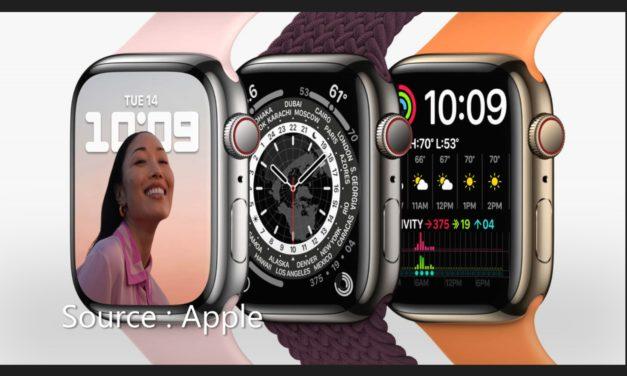 Annonce de l'Apple Watch Series 7 : Une évolution, pas une révolution